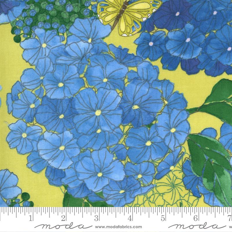 Cottage Bleu Sunlit by Robin Pickens for Moda