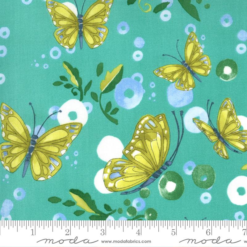 Cottage Bleu Butterflies Horizon