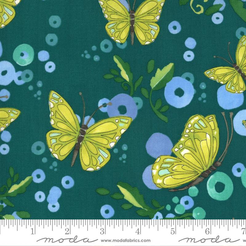 Cottage Bleu Pond Butterflies