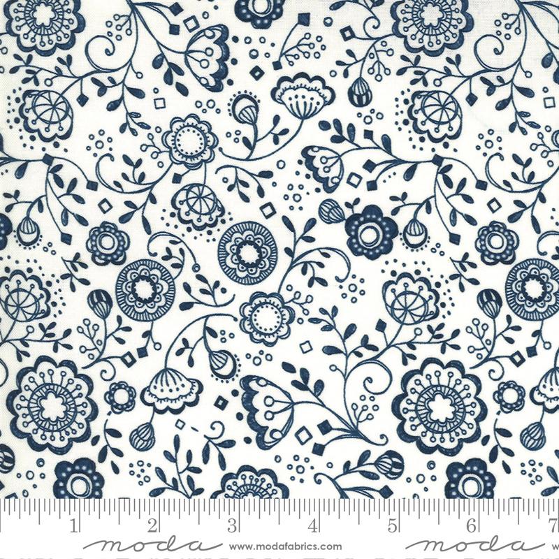 Cottage Bleu Cream #48692 11