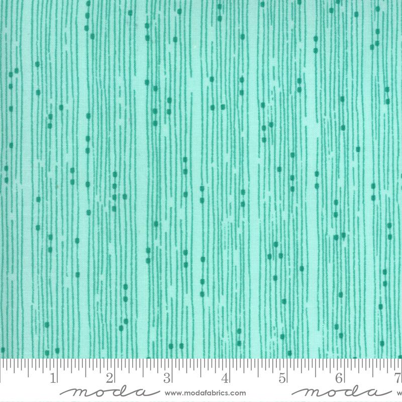 Cottage Bleu Stripe Dewdrop