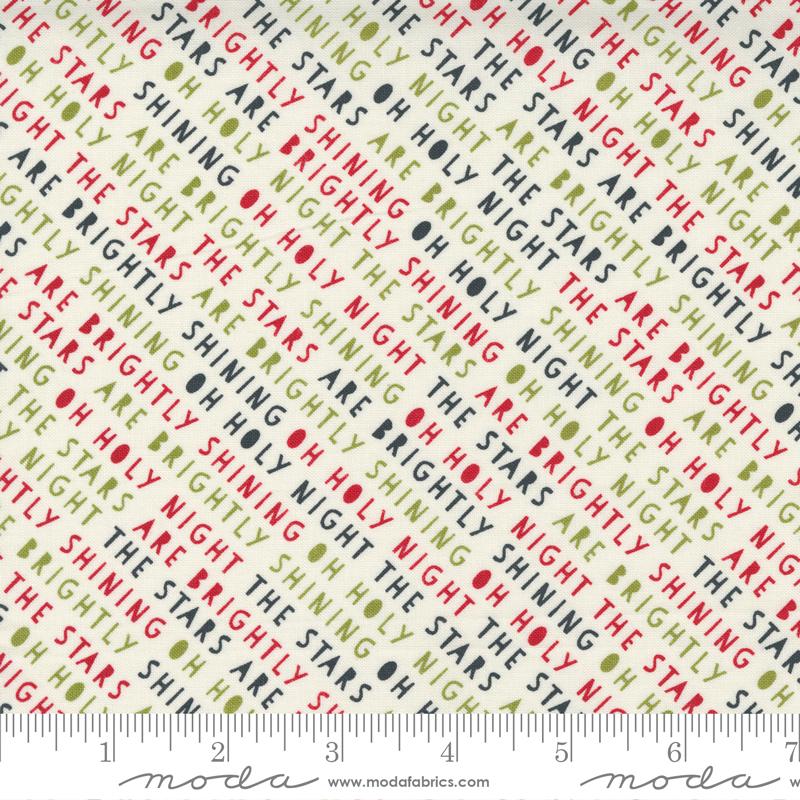 55533 24 Red Barn Christmas Vanilla Multi