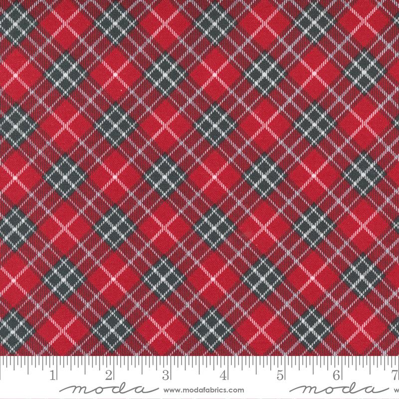 B-3075 : Red Barn Christmas - Moda - Sweetwater