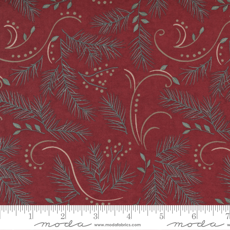 Warm Winter Wishes Deep Red