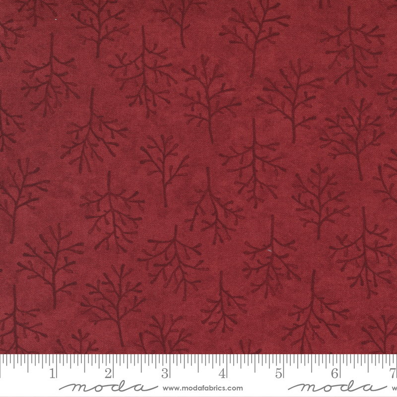 Warm Winter Wishes 6835 12 Deep Red