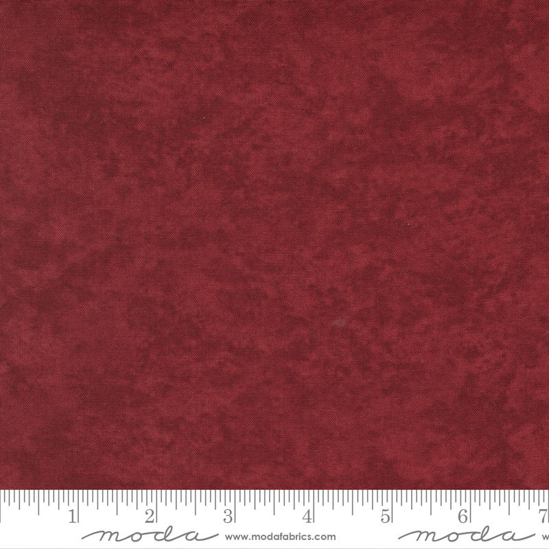 Blender Fabric - Deep Red Warm Winter Wishes Collection from Moda Fabrics