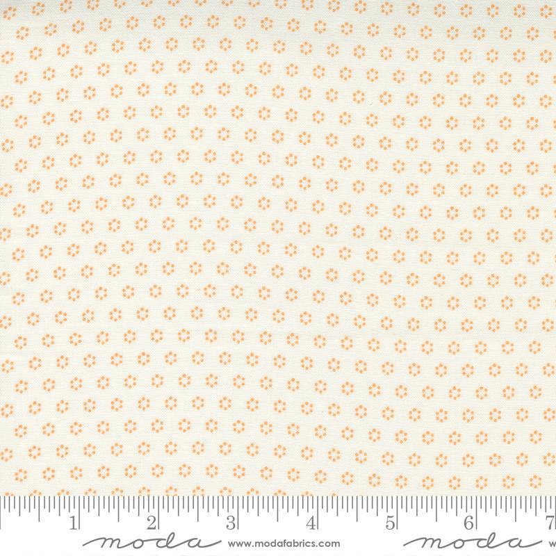 Pumpkins and Blossoms - Polka Dot Circles Vanilla Pumpkin
