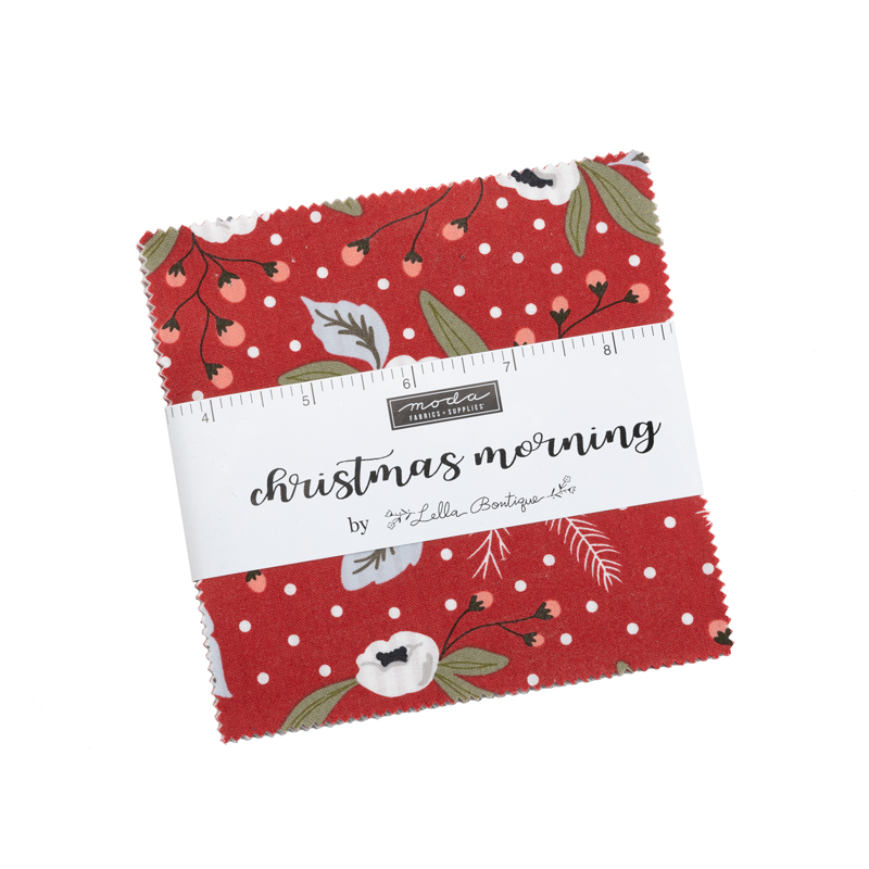 Christmas Morning Charm Pack (42 Pieces) - Lella Boutique - Moda