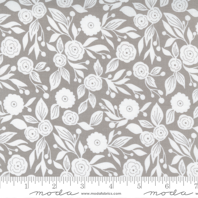 Christmas Morning Winter Flora Dove by Lella Boutique