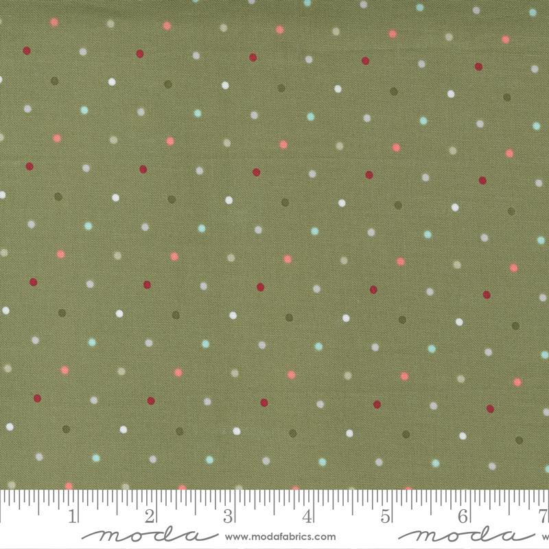 Moda Christmas Morning Pine 5147 15