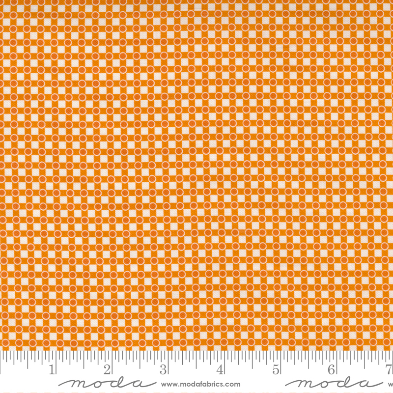 PRE-ORDER Story Time 21794-13 Dotted Check Orange