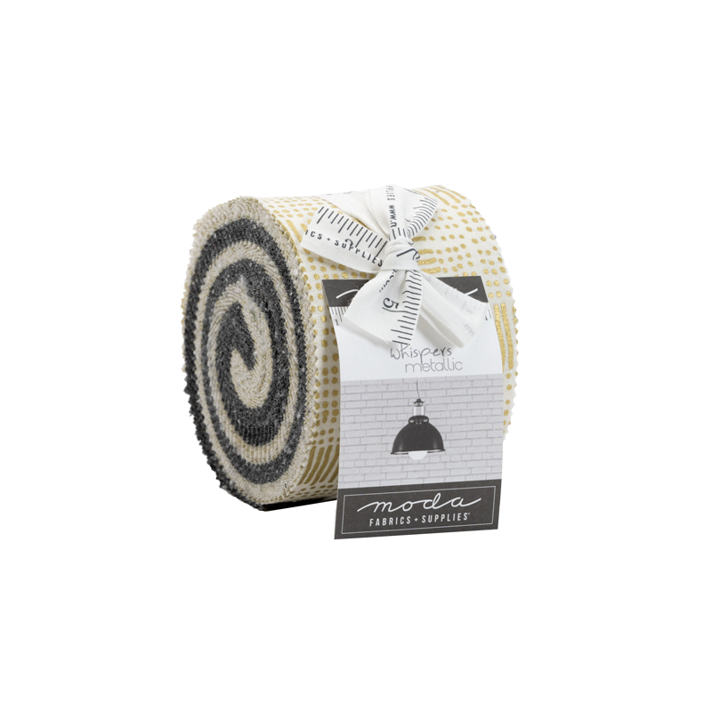Whispers Metallic Junior Jelly Roll Gold