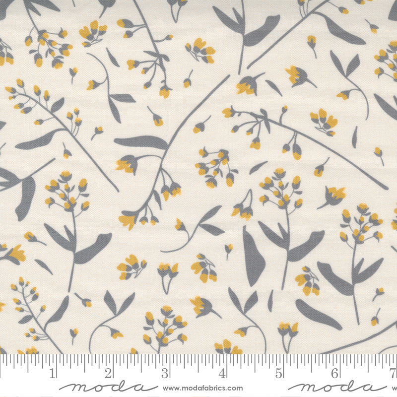 Through The Woods Floral Ivory
