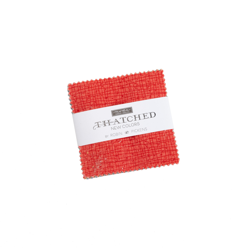 Thatched New Mini Charm by Robin Pickens