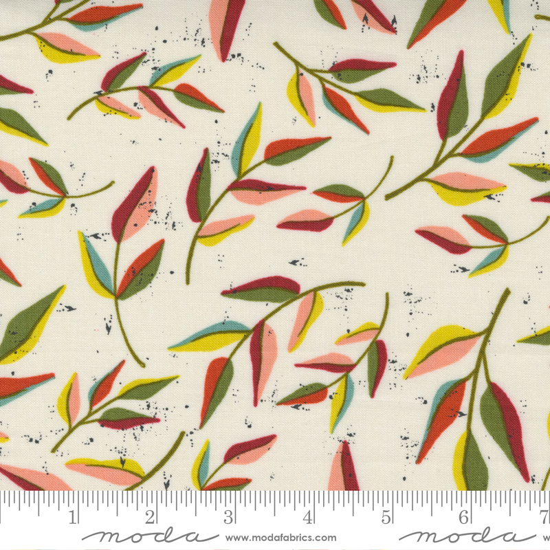 Songbook - Leaf Dream Floral Branch - Dove Wing