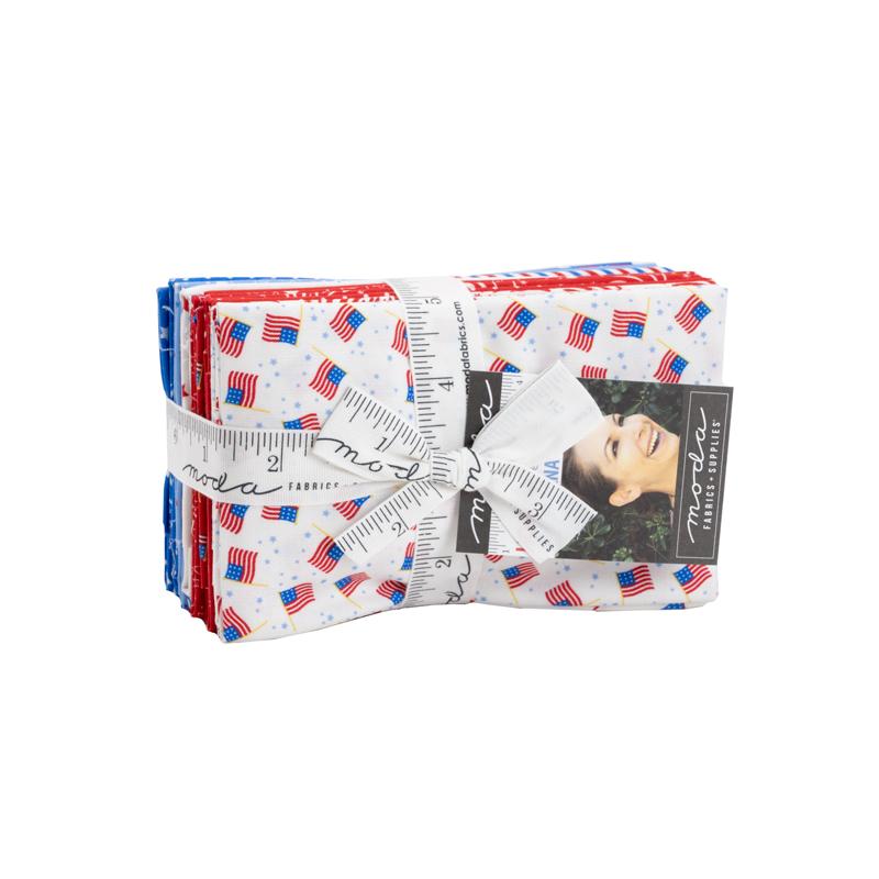 Holiday Americana 9 x 22 Cut (20 Pieces) - Stacy Iest Hsu - Moda