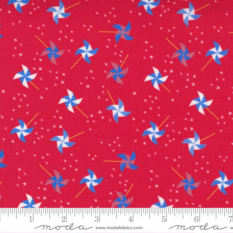 Holiday Americana Red Pinwheels - 20760-13