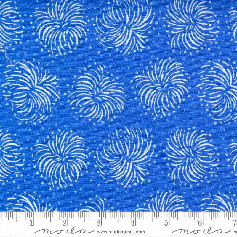 Holiday Americana Blue Fireworks - 20761-15