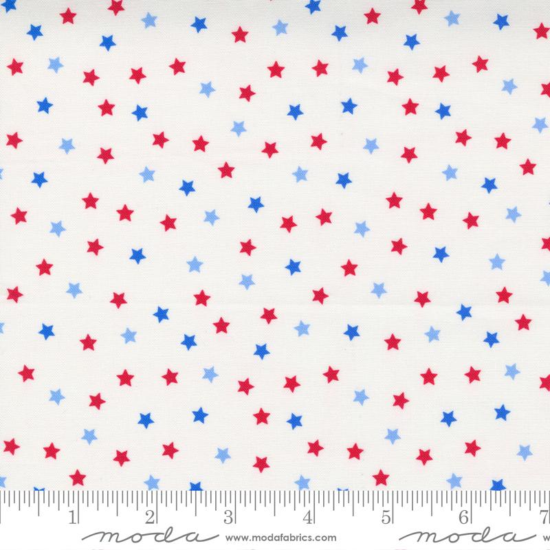 Holiday Americana White Stars - 20765-11