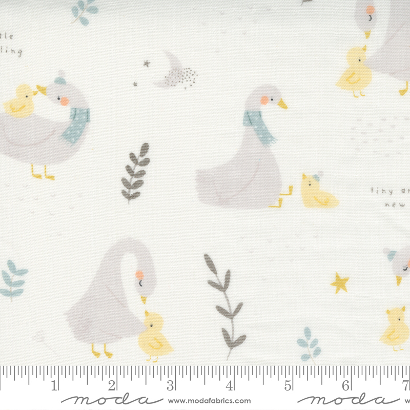 60 Little Ducklings Gauze Whit