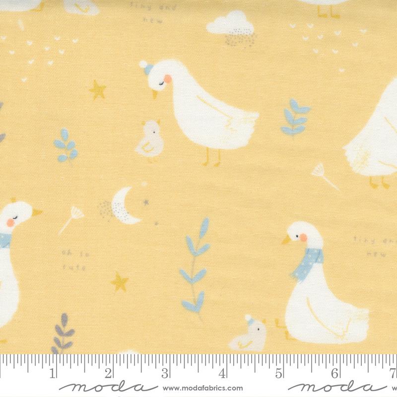 Little Ducklings Gauze Mustard 25100 16DG