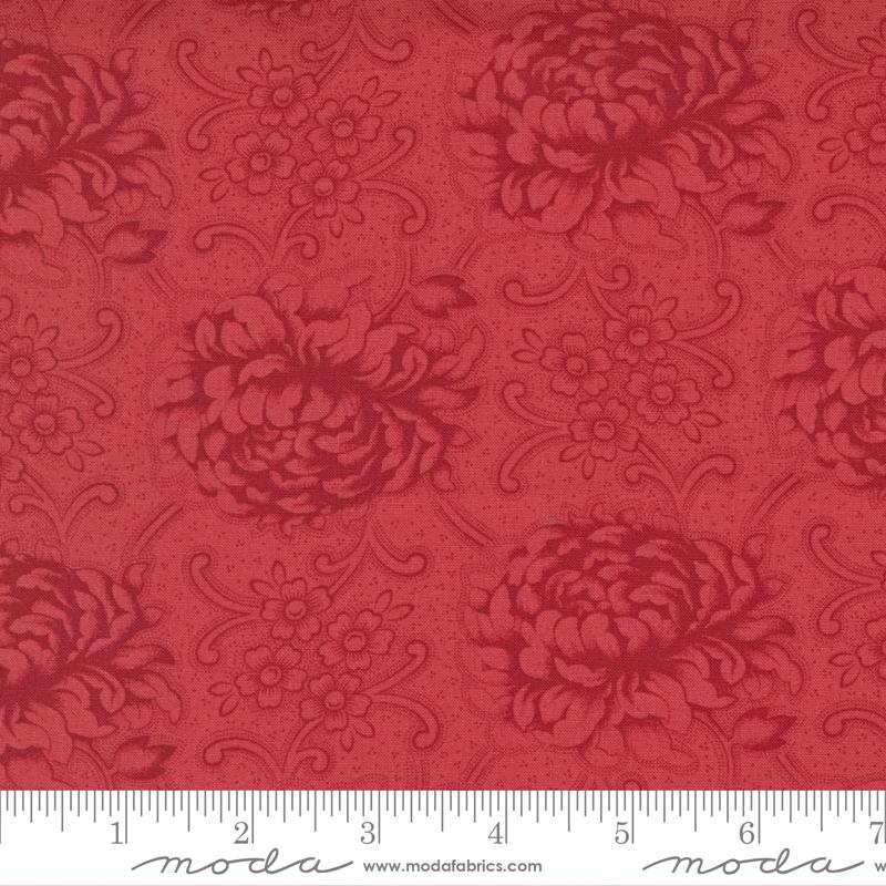 Merry Mums Cranberry<br/>Moda 44261-11