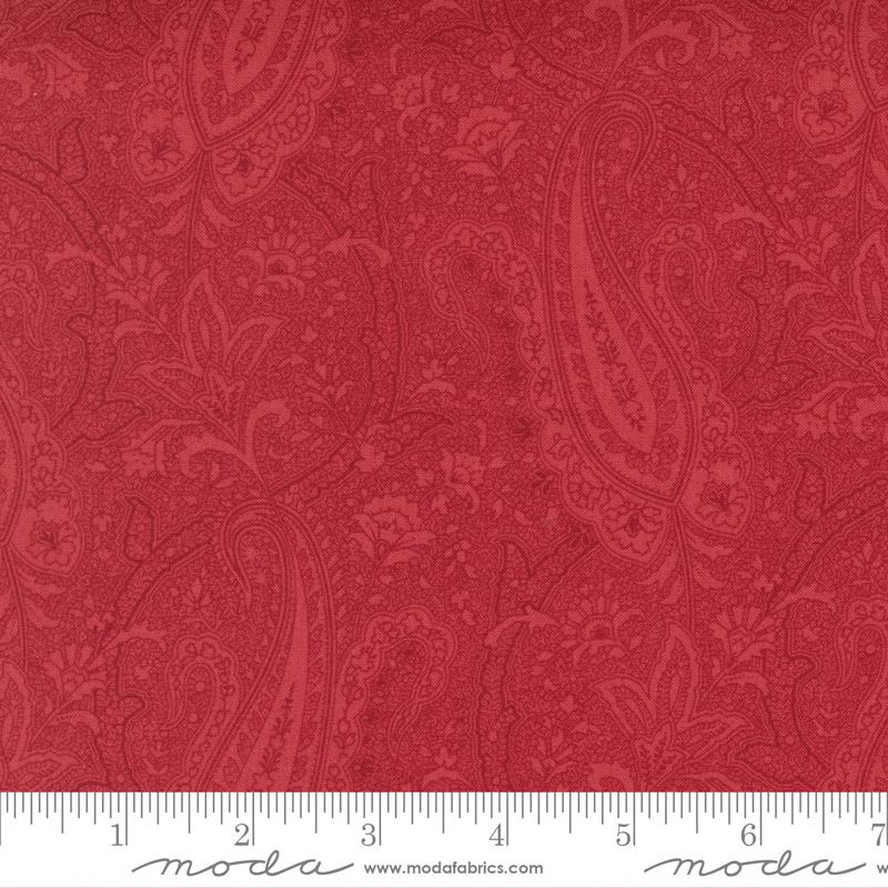 Paisley Party Blender Cranberry<br/>Moda 44262-11