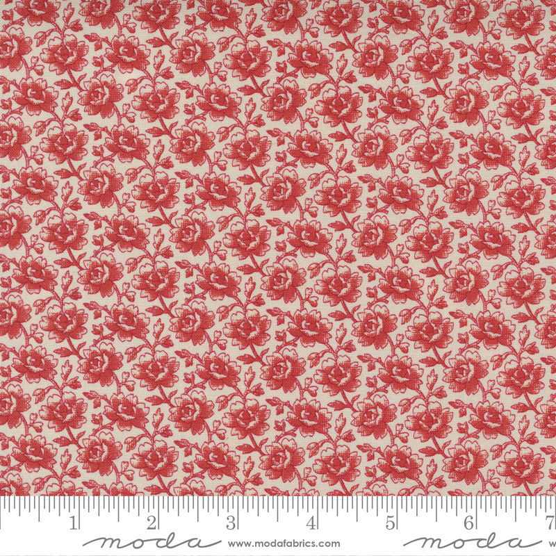 Cranberries and Cream - Sugar/Cranberry Winter Rose