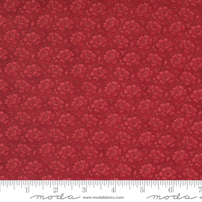 Winter Rose Cinnamon<br/>Moda 44265-16