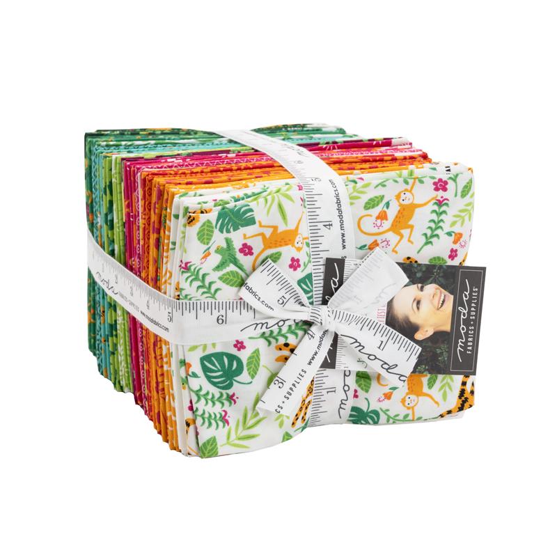 Jungle Paradise Fat Quarter Bundle by Stacy Iest Hsu for Moda 20780AB