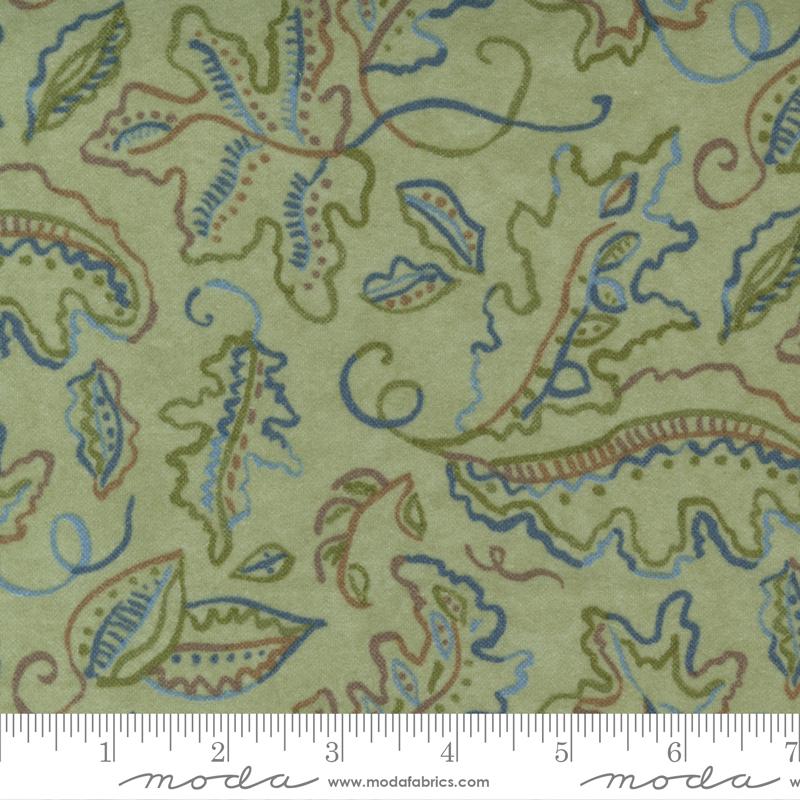 Fall Fantasy Flannels- 6840-22F Fern