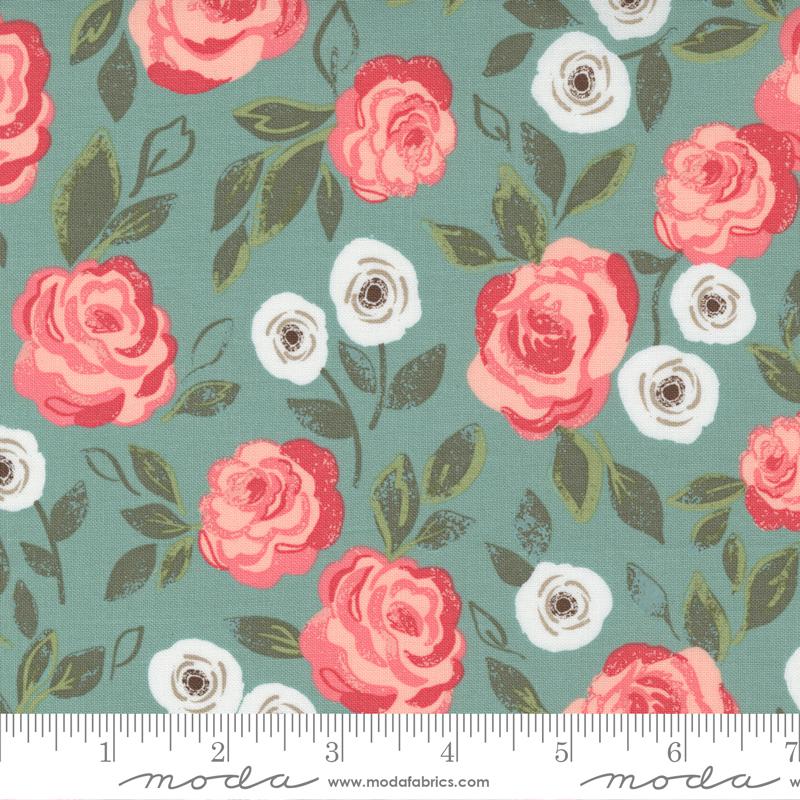 Love Note - Roses in Bloom Dusty Sky