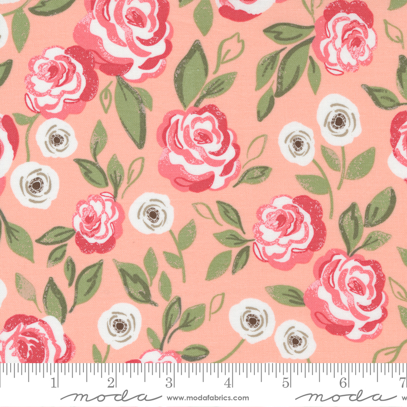 Love Note - Roses in Bloom Sweet Pink