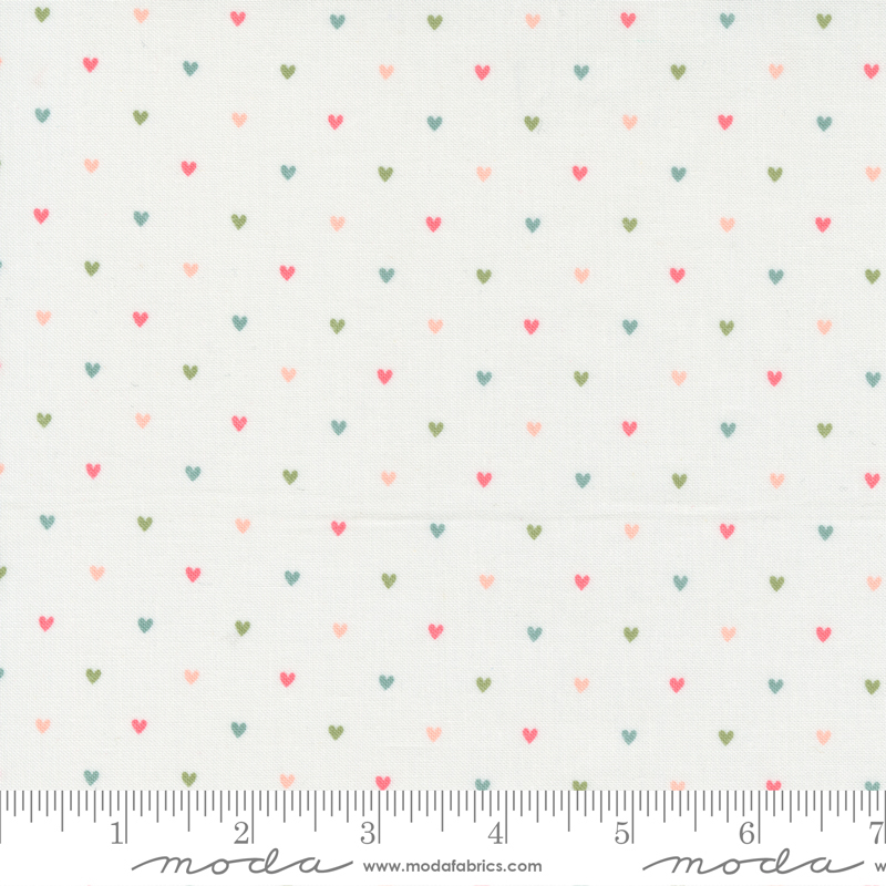 Love Note - Heart Dot - Cloud Multi 5155 11