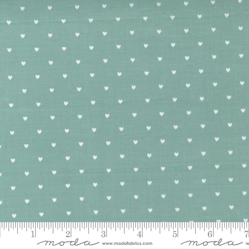Love Note - Heart Dot - Dusty Sky 5155 12