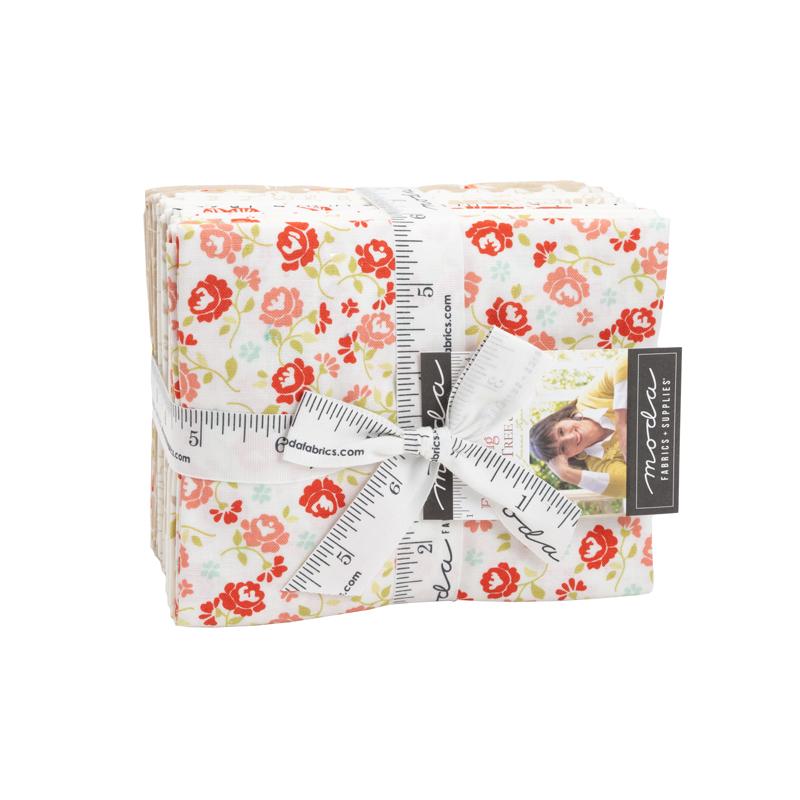 Fresh Fig Favorites Fat Quarter Bundle Neutrals by Fig Tree & Co for Moda 20410ABN