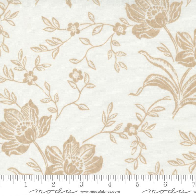 Fresh Fig Favorites - Floral Dasmask - Ivory Linen 20410 18