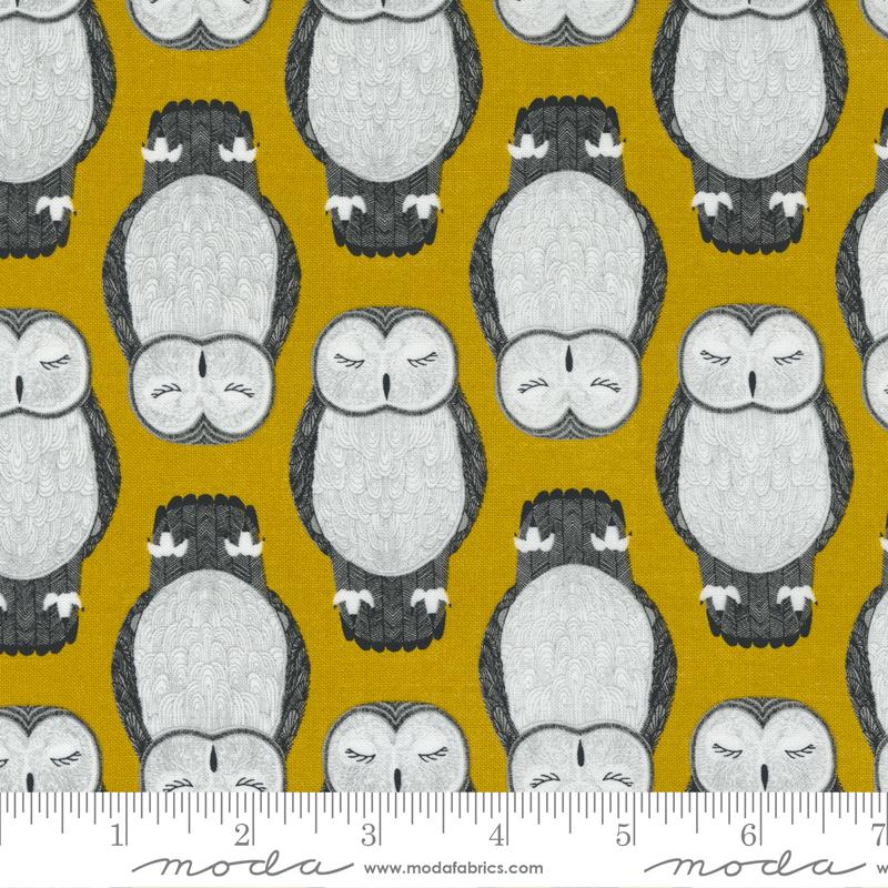 Nocturnal - Sleeping Owls Gold