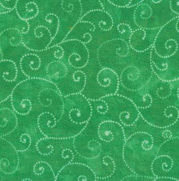 Marble Swirls Grass Green