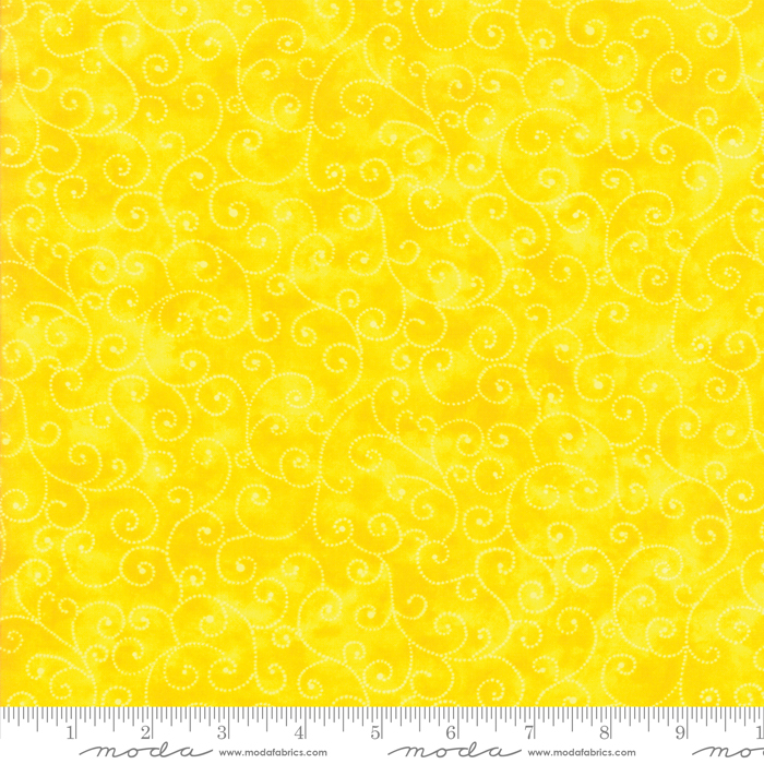 Marble Swirls Bright Yellow