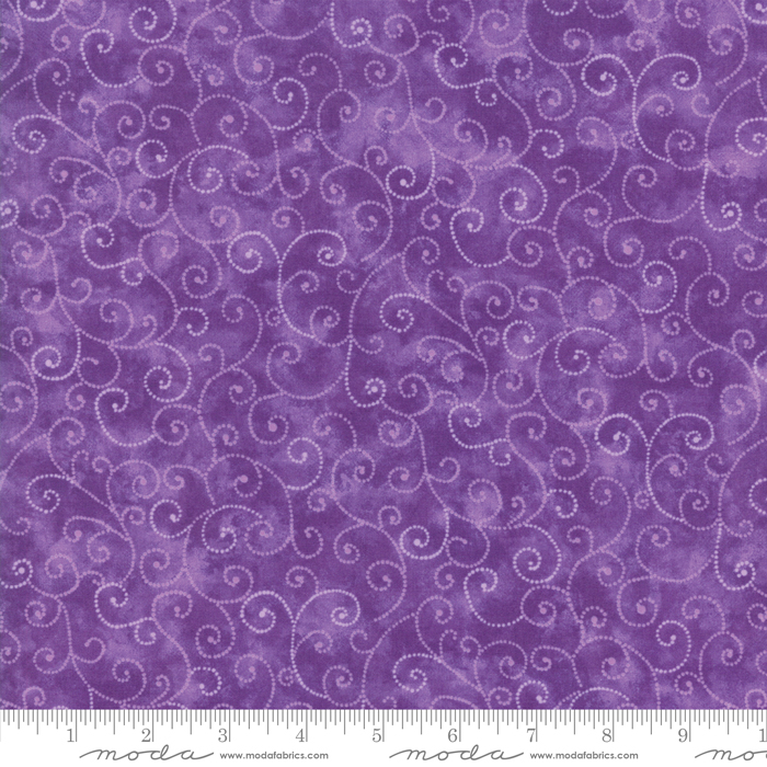 9908 19 Marble Swirls Key West Purple by Moda
