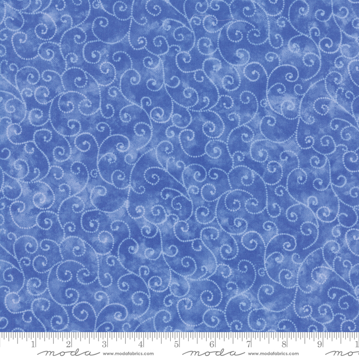 Marble Swirls - Bright Blue - #9908-43