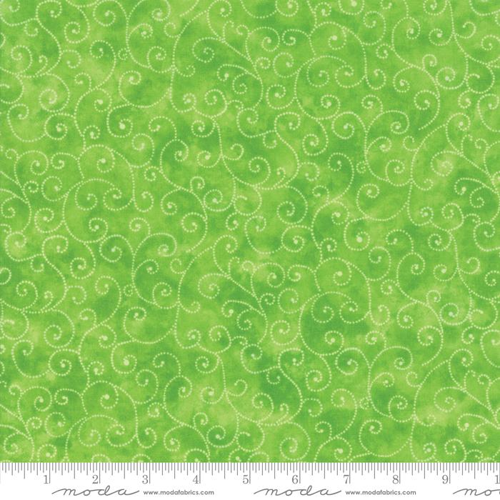 9908 44 Marble Swirls Lime by Moda