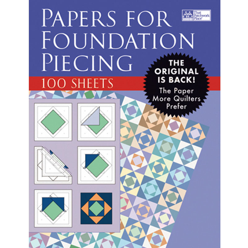 Papers For Foundation Piecing P131
