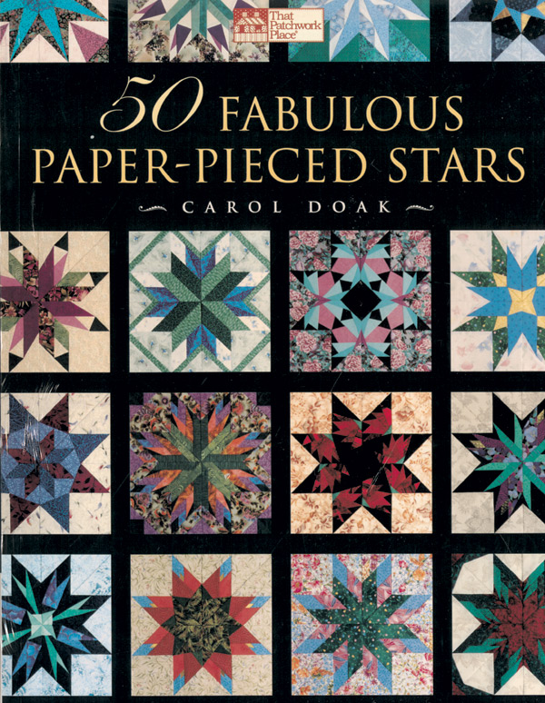 50 Fabulous Paper-Pieced Stars book by Carol Doak
