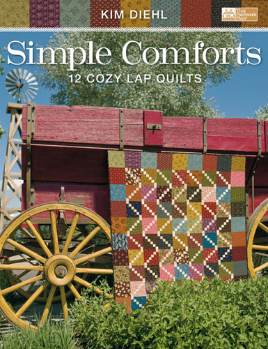 Simple Comforts Quilt Pattern Book by Kim Diehl