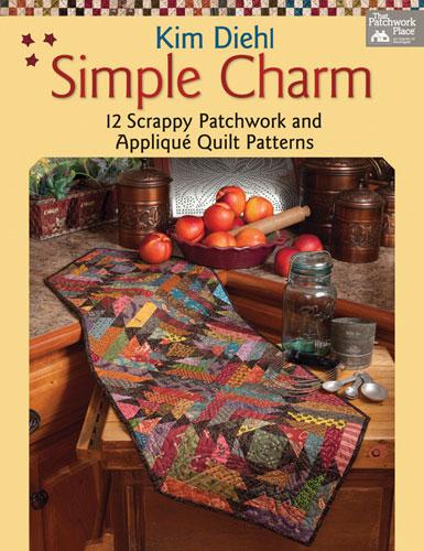 Simple Charm Quilt Pattern Book by Kim Diehl