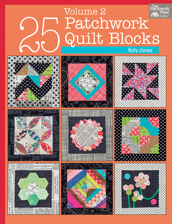 25 Patchwork Qlt Blocks Vol 2