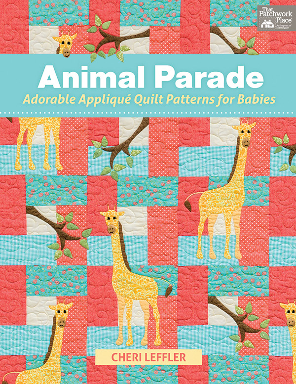 Animal Parade Applique Book