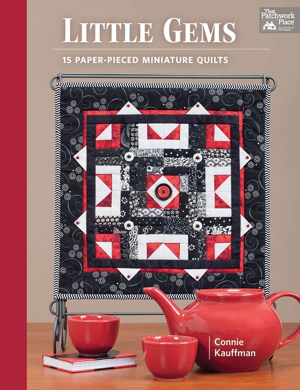 Little Gems 15 PaperPieced Miniature Quilts Book